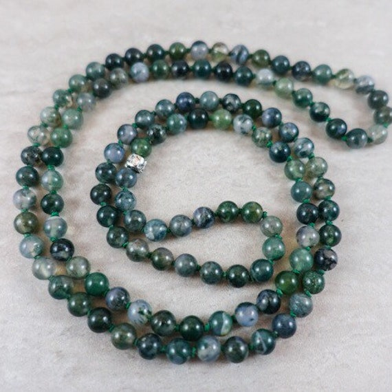 The Milestone Series: Moss Agate