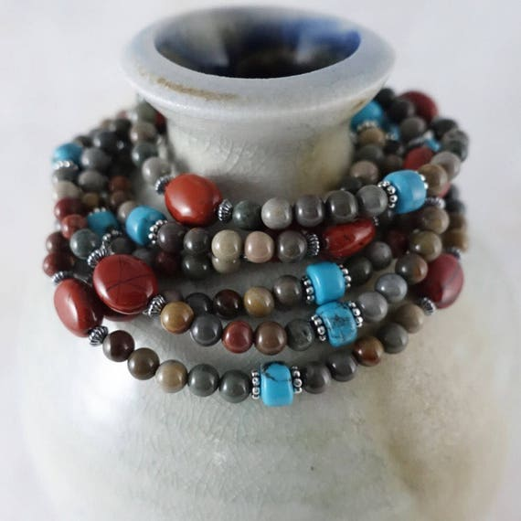 Versatility Necklace in jasper