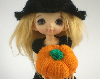 Halloween Knitting Patterns for Pukifee and Lati Yellow