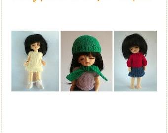 Brilliant Basics - Knitting Pattern eBook for Lati Yellow and Pukifee