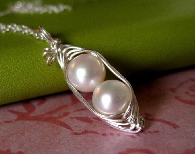 Peapod Necklaces