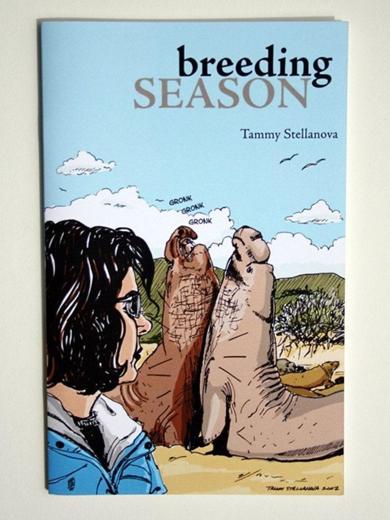Breeding Season  a comic about elephant seals image 0