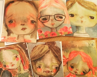 set of 6 note cards