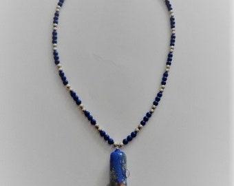 Lampwork Focal Bead Pendant