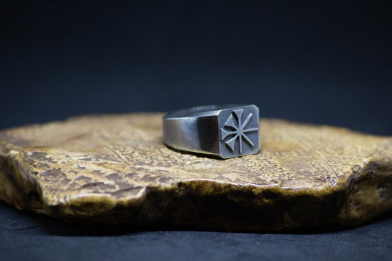 Lord of the Constellations   Anu Signet Ring   Sumerian Cuneiform Signet Ring