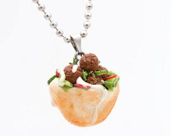 Miniature Falafel Necklace