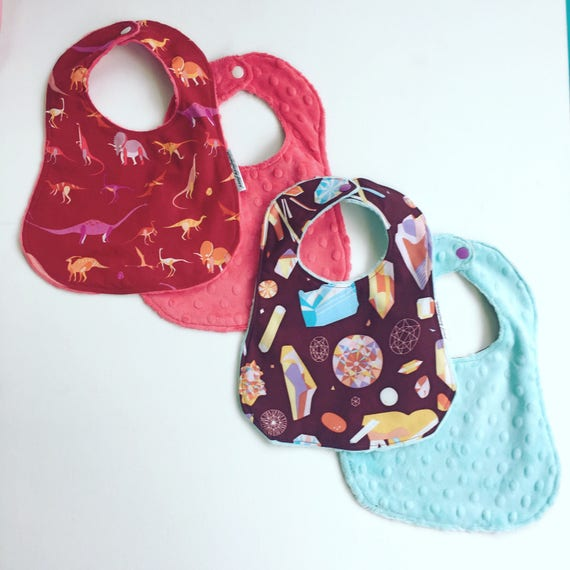 Custom Baby Bibs Burp Cloths Future Geologist Cotton Baby Items for Baby Girl /& Boy White Blue Design Only