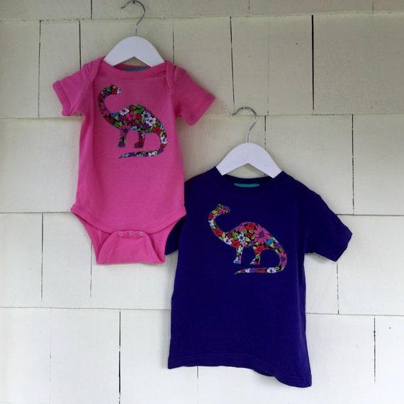 Science Shirt Paleontologist Stem Nerd Dinosaur Birthday Party Ready to Ship  2T Dino Girls Clothing Floral Dinosaur Hoodie