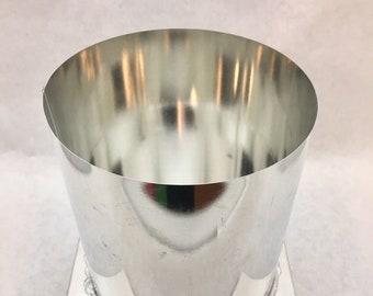 Round Metal Pillar Candle Mold 4in x 5.5in  **Special Purchase**