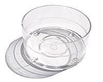 100 Plastic Tealight Cups Polycarbonate Containers Tea Light Molds