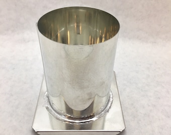 Round Metal Pillar Candle Mold  3.5in x 4in **Special Purchase**