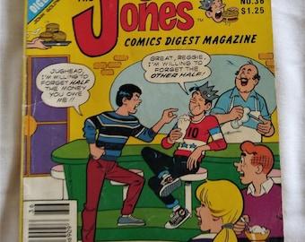 Jughead Jones 1985 Comics Digest Magazine No 36  128 pages The Archie Digest Library