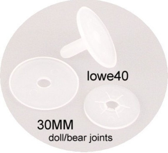 Doll Joints 12 sets 30mm