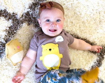 Say What? Hamster Baby Toddler T-Shirt, Cute, Children's Graphic Tee, Ecofriendly - Organic Cotton ON SALE
