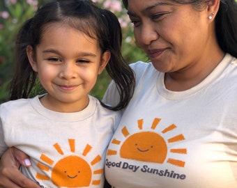 Good Day Sunshine Women T-Shirt Kawaii TShirt Beatles Shirt