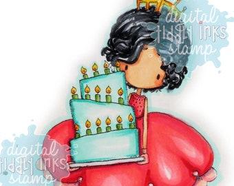 Let Us Eat Cake | Digital Stamp