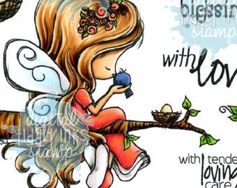 Fairy Tenderhearted  | Digital Stamp
