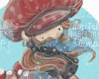 Mushy for You Wryn | Digital Stamp