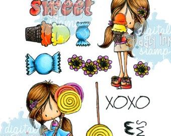 Summer Sweets | 2 Digital Stamps