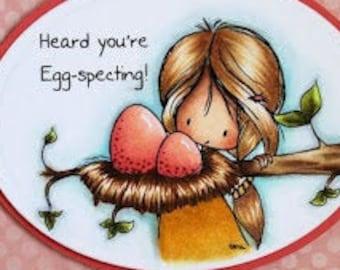 Eggcellent News| Digital Stamp