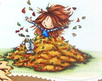 Wryn - Leaves | Digital Stamp