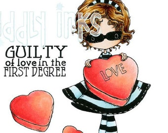 Guilty of Love in the First Degree | Digital Stamp