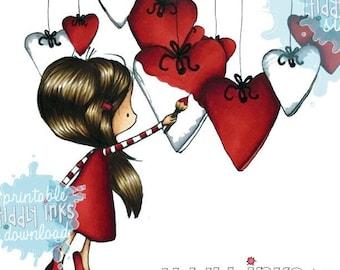 Heartfelt Wishes | Digital Stamp