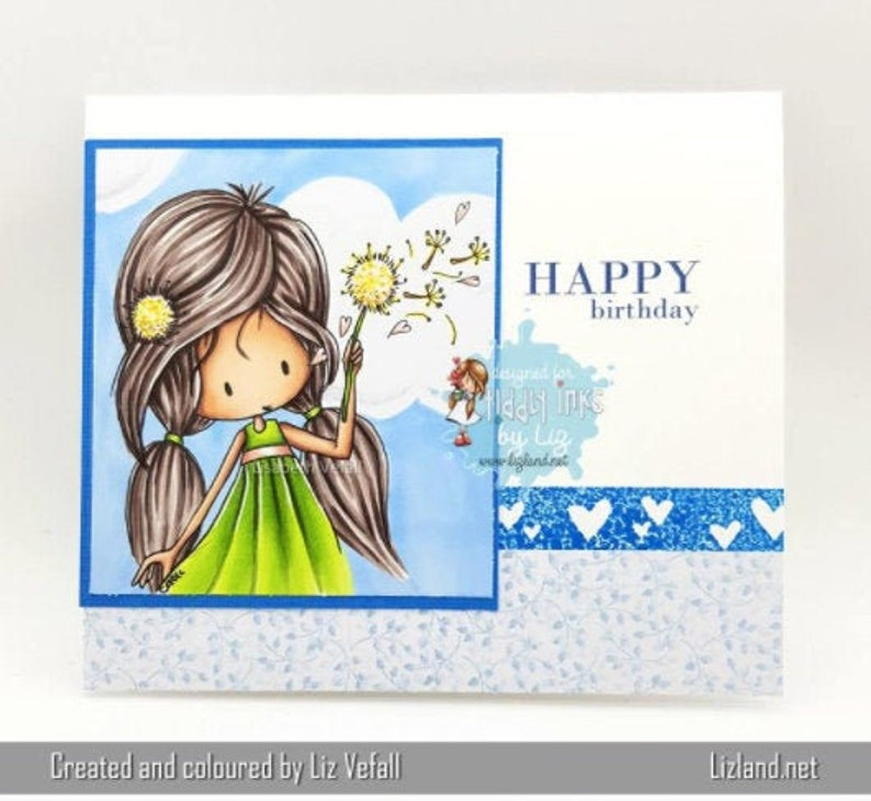 Wryn Wishes  Digital Stamp image 0