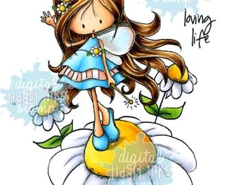Wryn - Fairy Sunny Day | Digital Stamp