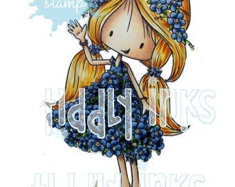 Flower Girls  | 3 Digital Stamps (Lilly, Forget Me Not and Poppy)