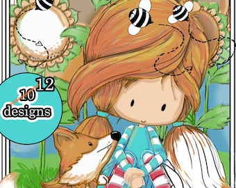 Friendship Days | Digital Coloring Book | Printable | Adult or Kid