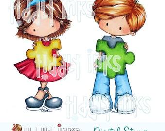 Autism Awareness | Digital Stamp
