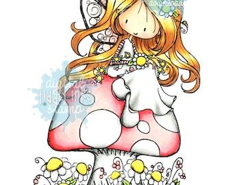 Wryn - Fairy Happy Day | Digital Stamp