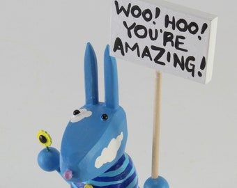 Bunny who thinks you're amazing