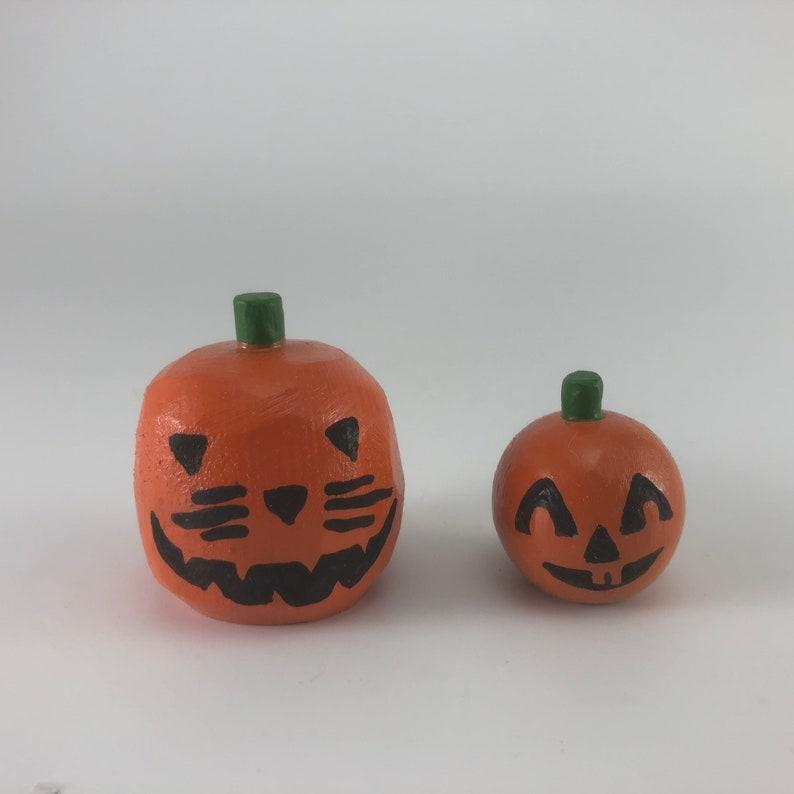 Pair of Pumpkins  Sweet Sixteen Sale  Halloween Decoration  image 0