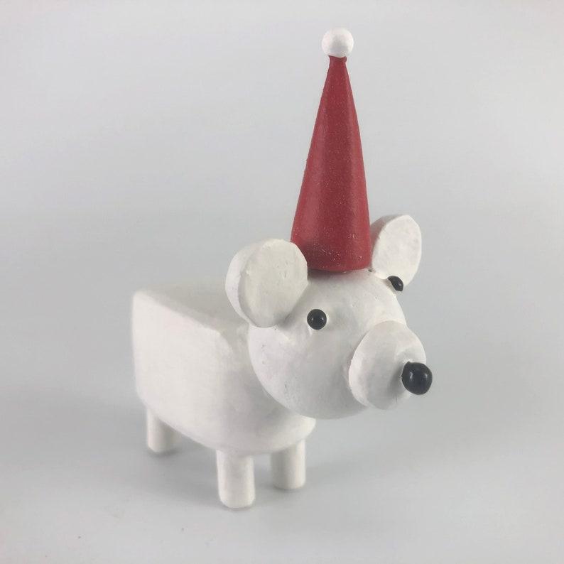 little christmas polar bear image 0