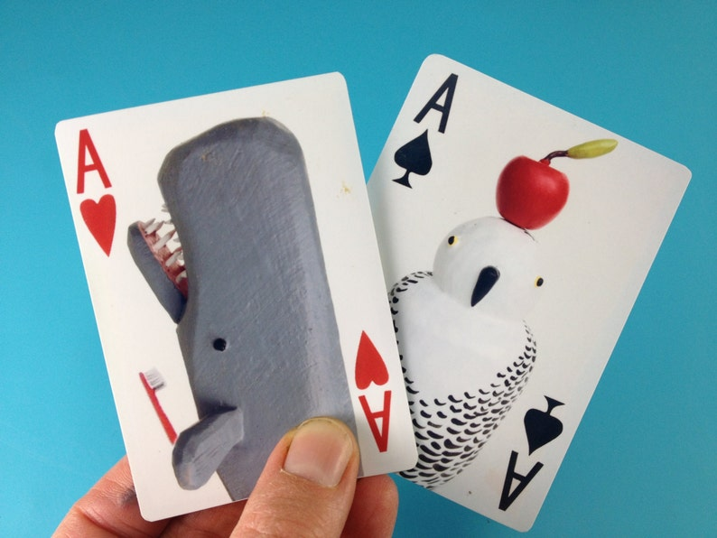 Playing Card Deck with animalsplay any card game fortune image 0