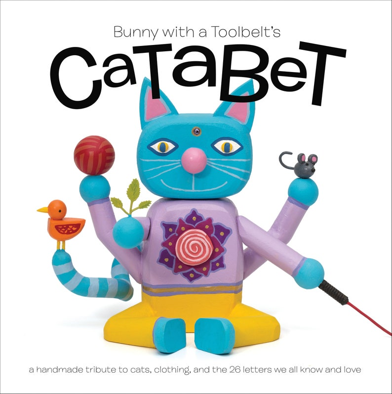 Catabet  an alphabet book about cats and clothing  great image 0