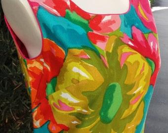 Island Breezes Vintage Hawaiian Dress by Andrade Resort Shops Waikiki