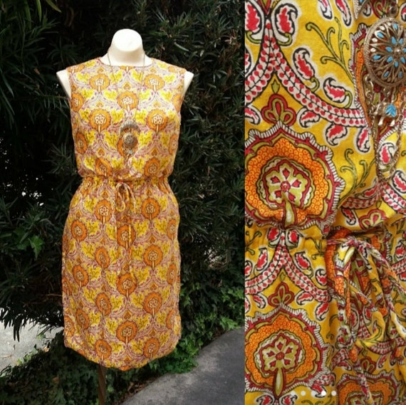 Sunshine-y Day Vintage Day Dress by Youth Guild Ne