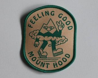 Feeling Good Mt. Hood Patch