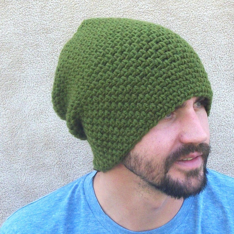 3ca61812c1b The Link Slouch Beanie in Olive Gamer Gift Cosplay Legend