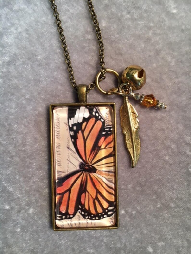 Butterflies are Free necklace image 0
