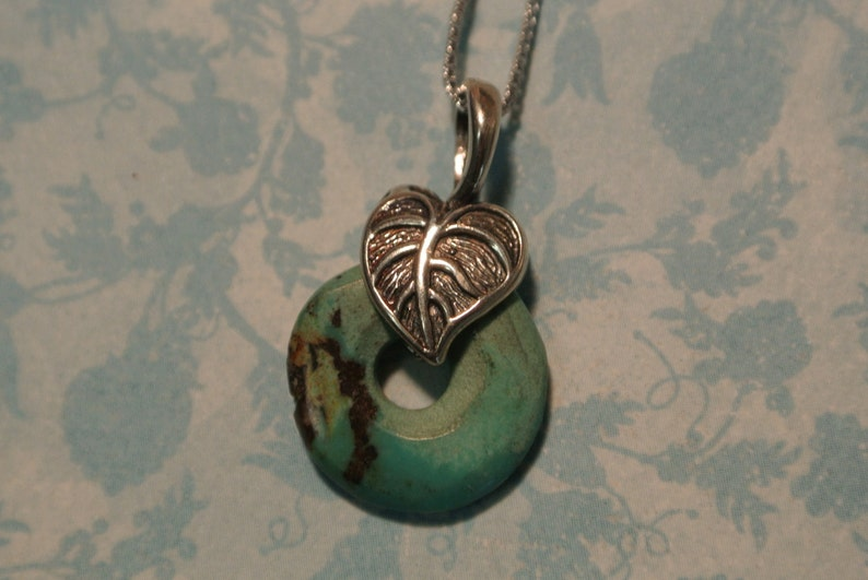 Turquoise in the Round Necklace image 0