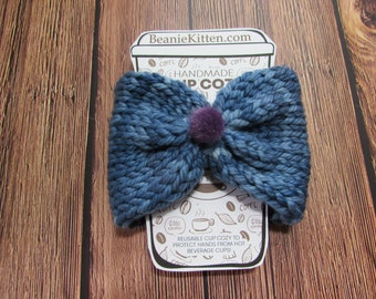 Berry Blues Cozy for coffee or drinks