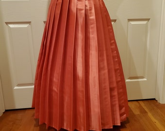 Coral Pleat Brigade Skirt One Size Fits All