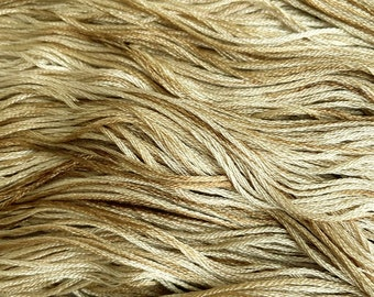 NUTCRACKER, hand dyed 6 strand cotton DMC floss, cross stitch, needlework, embroidery, hand dyed floss, wicked, stepmother, brown and beige