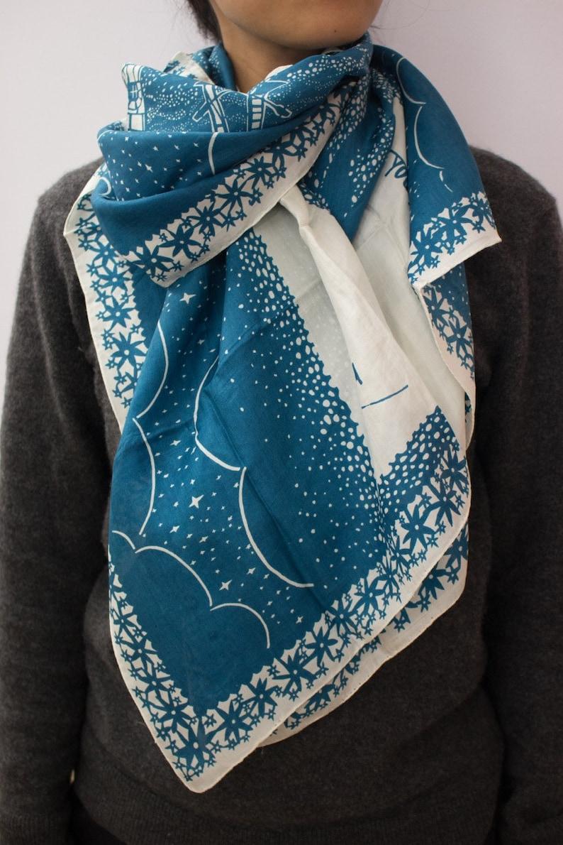 I Always Said That    silk scarf image 0