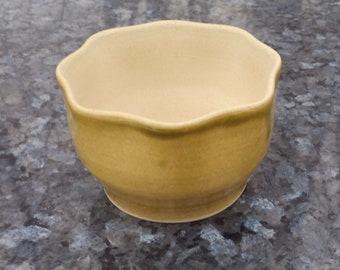 Handmade Pottery Ceramic Succulent Flower Small Pot By Powers Art Studio