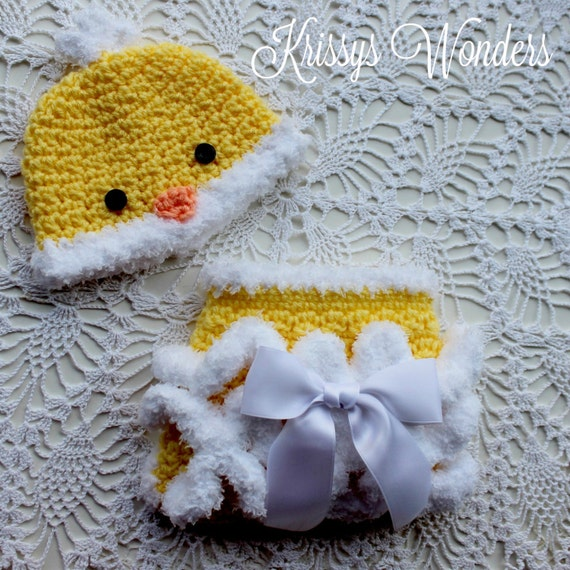 Crochet Hat Pattern Chicken Hat Diaper Cover Crochet Etsy